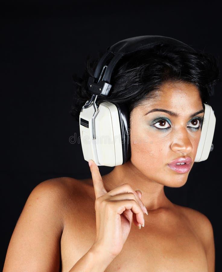 Free Headphone Girl Stock Images - 11009294