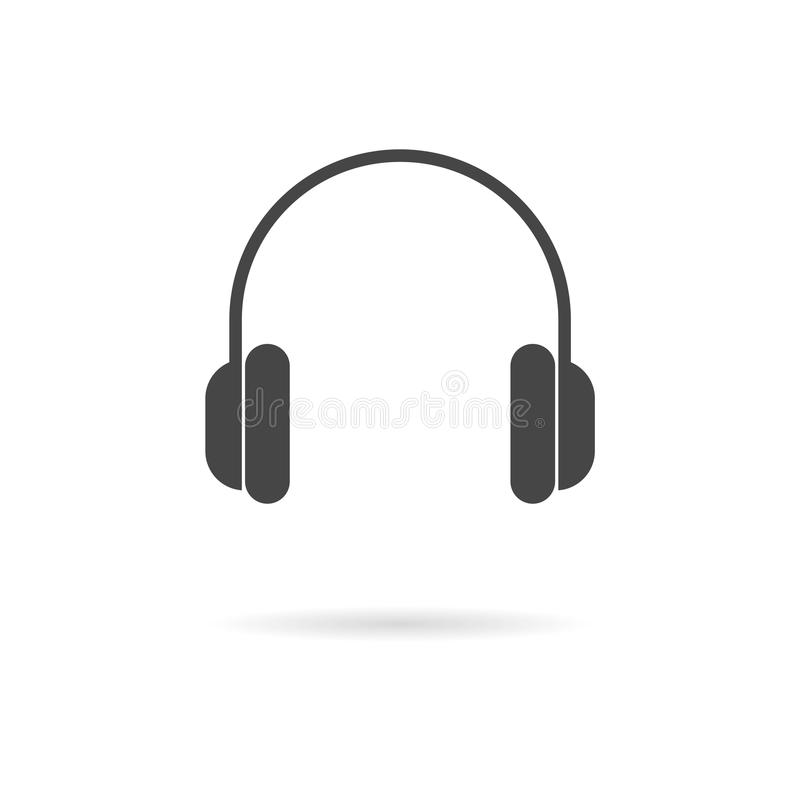 Free Headphone Icon Vector Royalty Free Stock Image - 122121556