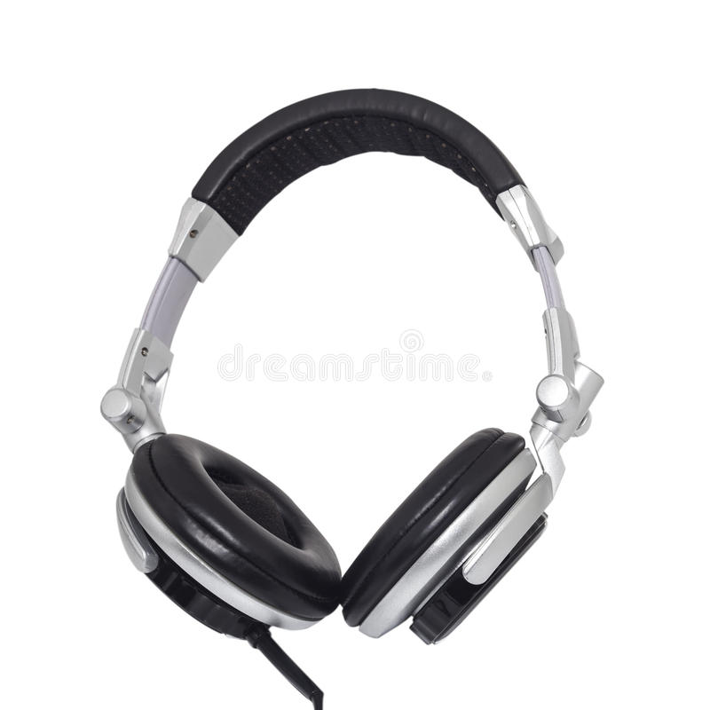 Headphone. Isolated on white background stock photo