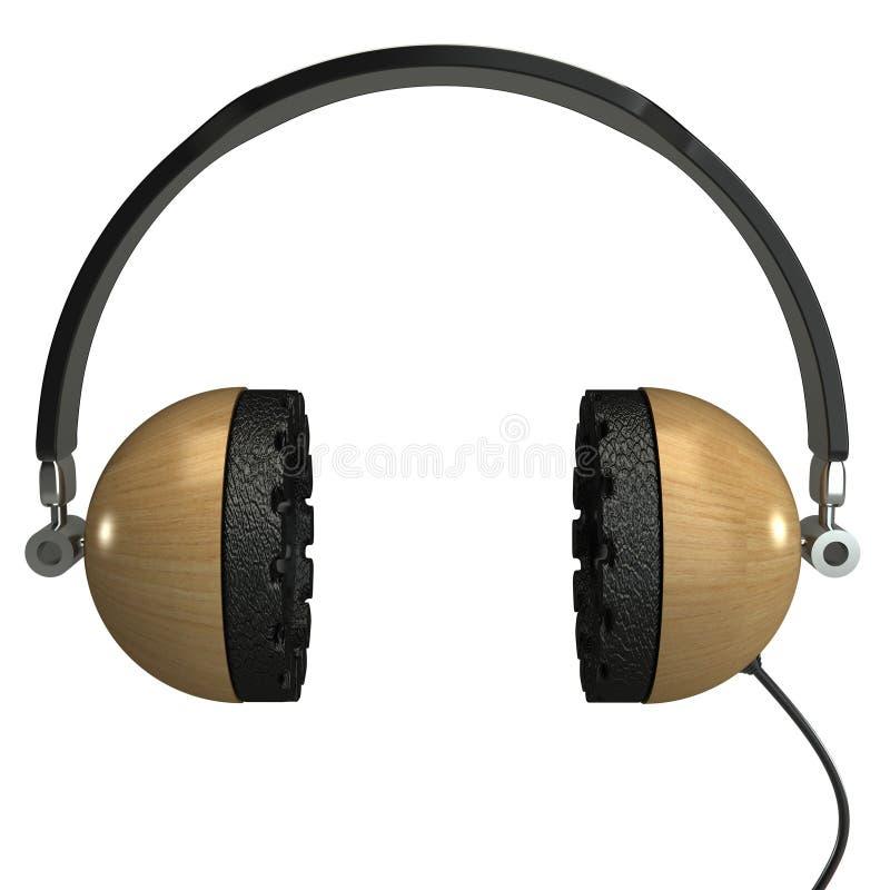 Download Headphone isolerad 3D stock illustrationer. Illustration av kommunikation - 27280567