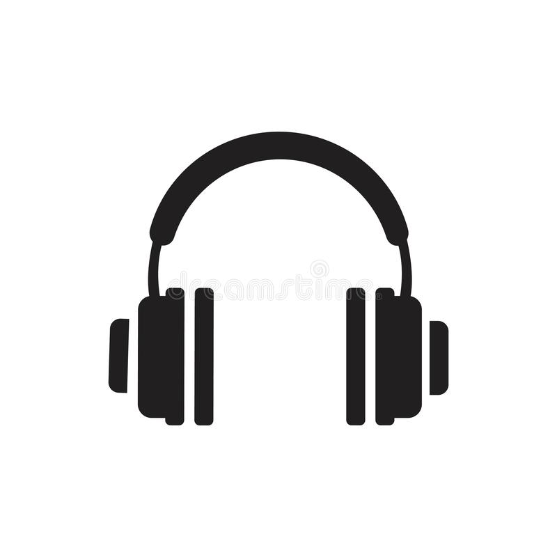 headphone ilustração stock