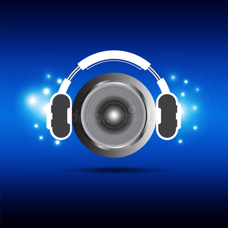 Download Headphone and speaker stock vector. Illustration of power - 26526709