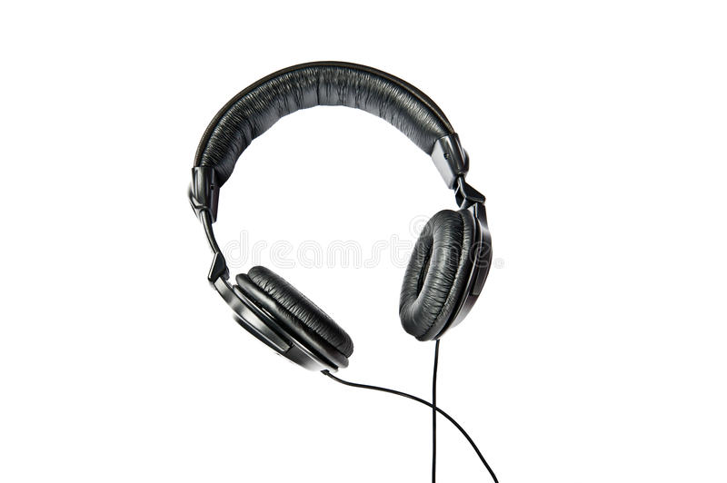 Headphone. On a white background with path stock photos