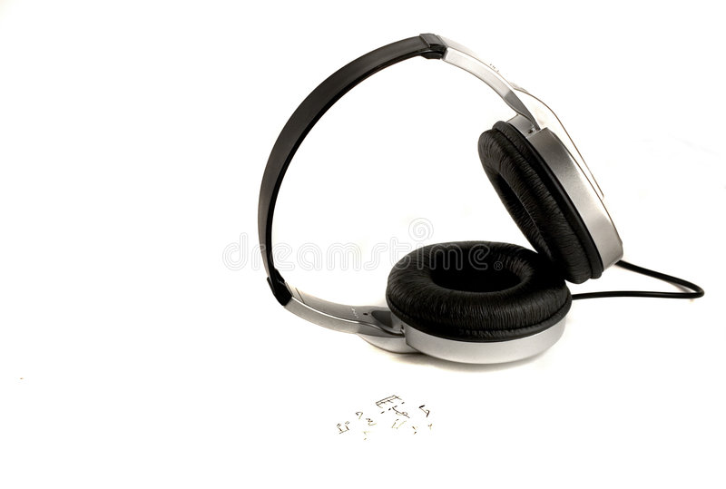Headphones Music Notes: Headphones Stock Image. Image Of Music, Notes, Sounds