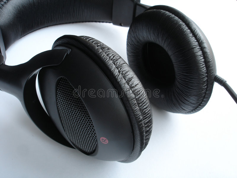 Download Headphones stock image. Image of communicate, background - 457185