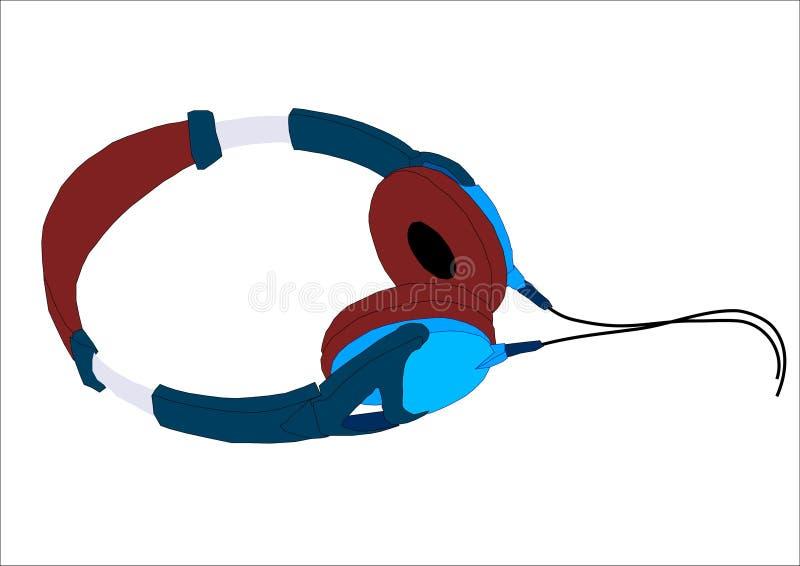 Headphones royalty free illustration