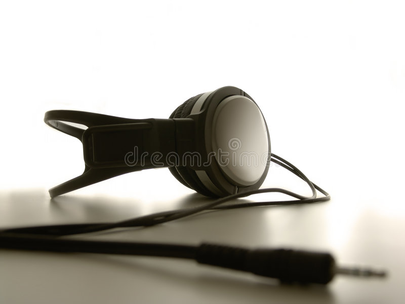 Headphones stock images