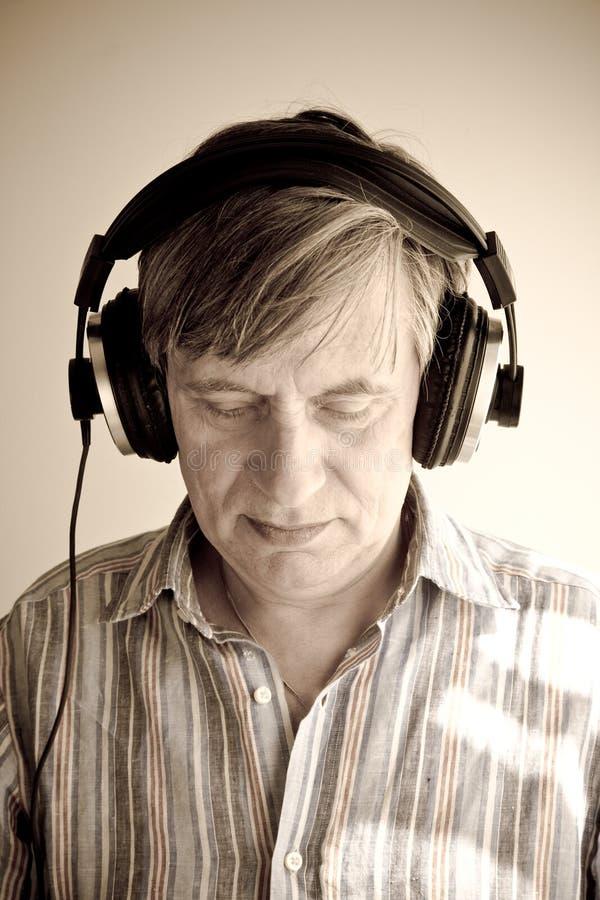 Download Headphones stock image. Image of music, sound, listening - 7428025