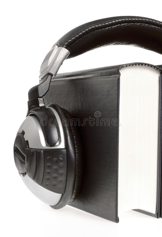 Download Headphones and books stock photo. Image of isolated, reflection - 7335372
