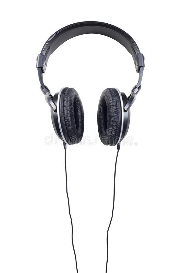 Download Headphones Isolated On White Stock Photo - Image: 26123234