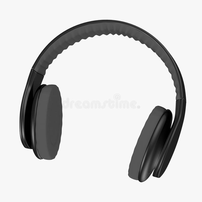 Headphones - Large Royalty Free Stock Image
