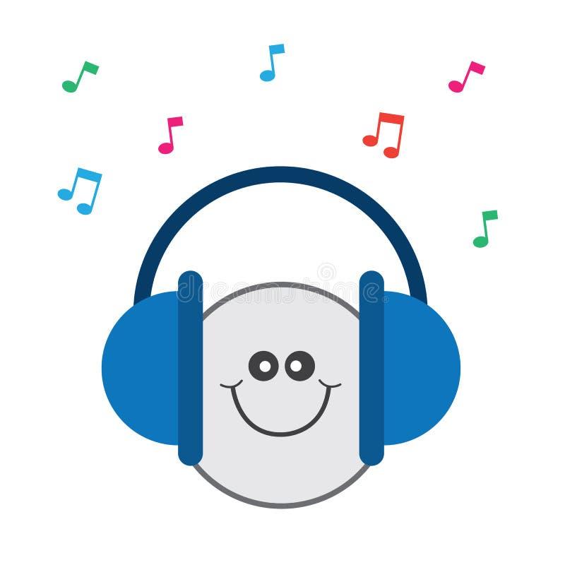 Headphones Music Happy Stock Photography - Image: 36694552