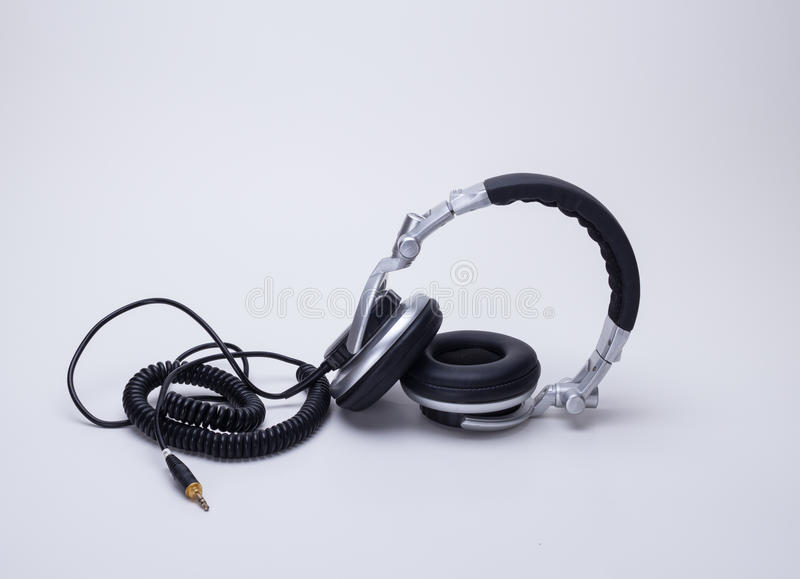 The headphones. Products for the headphones is indispensable to modern society, bring people happy spirit to enjoy, can easily enjoy music at any time royalty free stock photos
