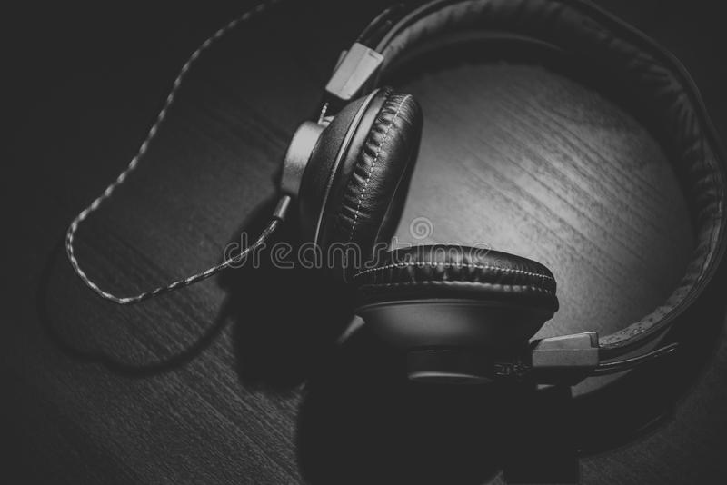 Headphones On Tabletop Free Public Domain Cc0 Image