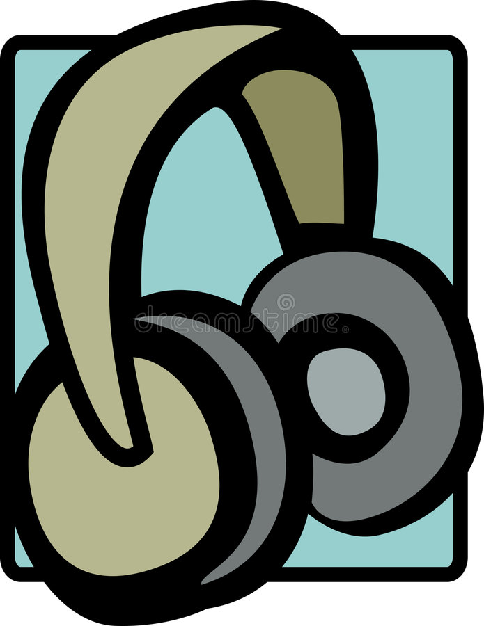 Download Headphones Vector Illustration Stock Photography - Image: 6253062