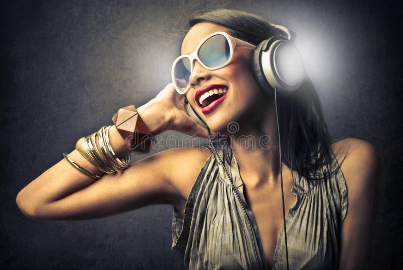 Download Headphones stock photo. Image of earphones, beauty, face - 31404284