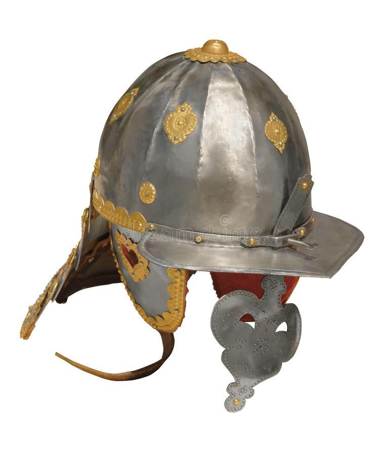 Headpiece σιδήρου ουσάρων στοκ εικόνα με δικαίωμα ελεύθερης χρήσης