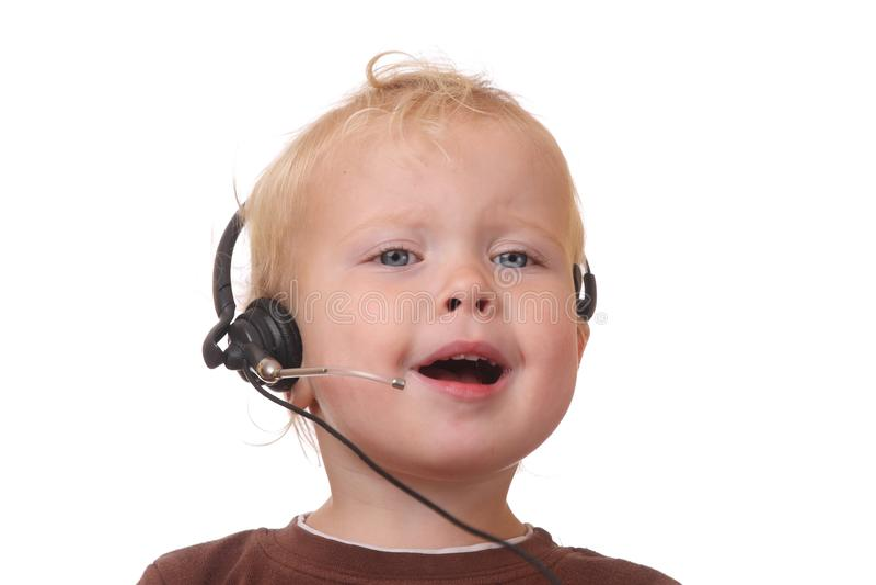 Download Headset fun stock photo. Image of beauty, headphone, earphones - 26421358