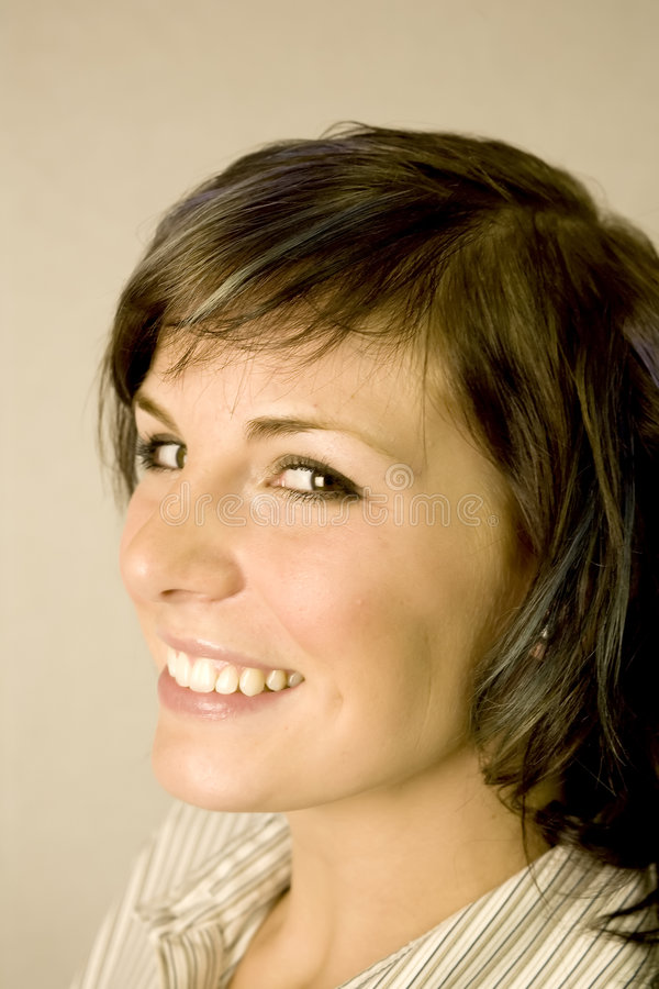Headshot da mulher fotos de stock