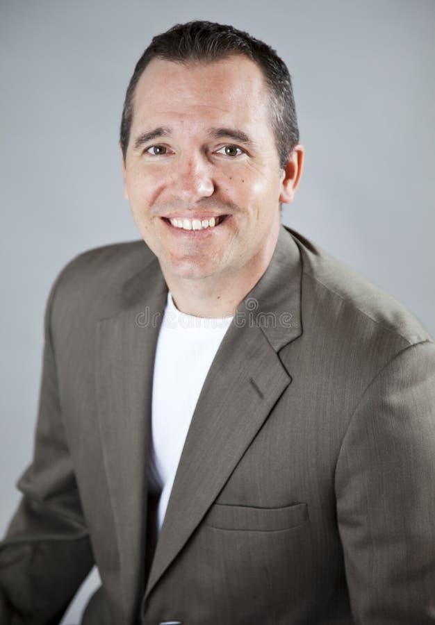 Headshot del hombre de negocios imágenes de archivo libres de regalías