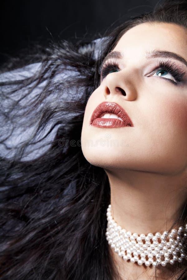 Headshot der Braut stockbild