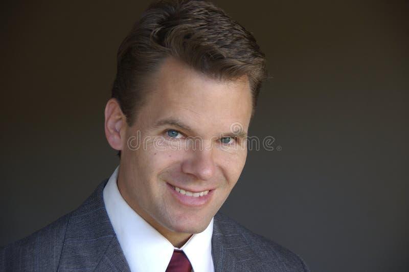 Headshot des Geschäftsmannes lizenzfreie stockfotografie