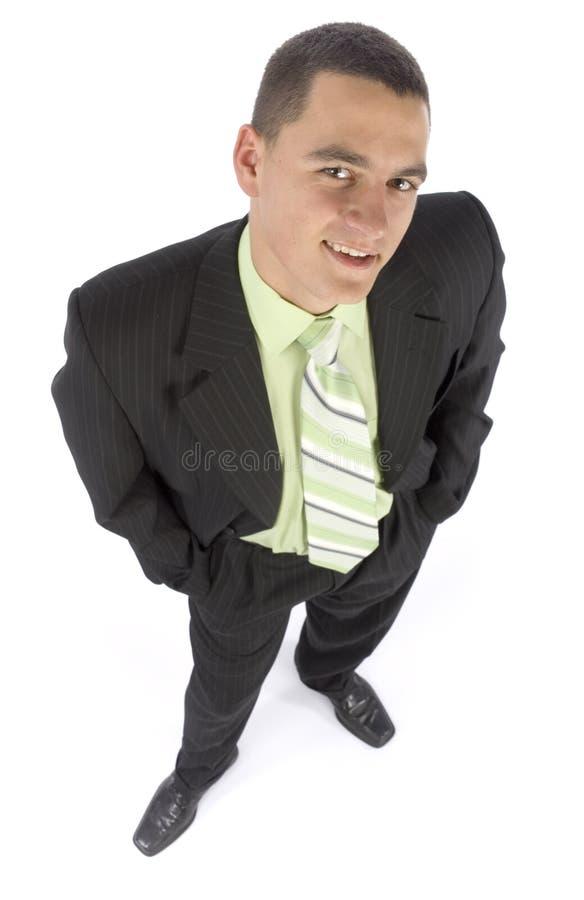 Headshot des glücklichen Geschäftsmannes lizenzfreie stockfotografie