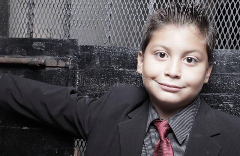 Headshot di un bambino sorridente fotografia stock