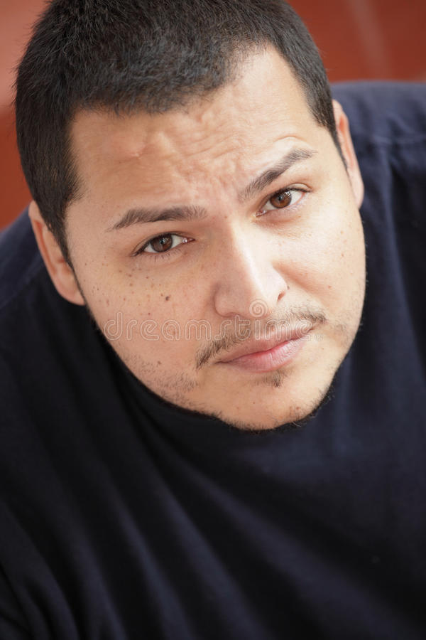 Headshot do Latino fotografia de stock royalty free