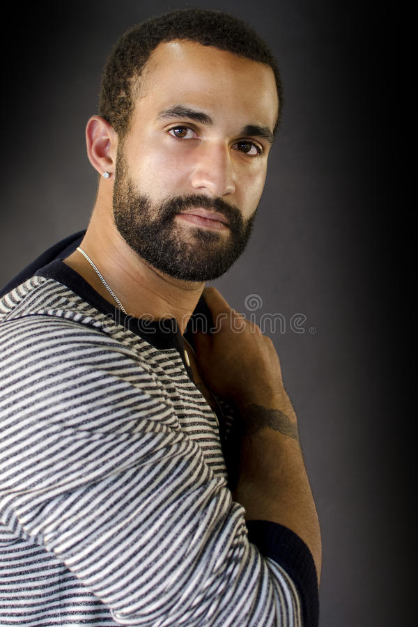 Download Headshot Of A Man With Beard Stock Photo - Image: 35491630