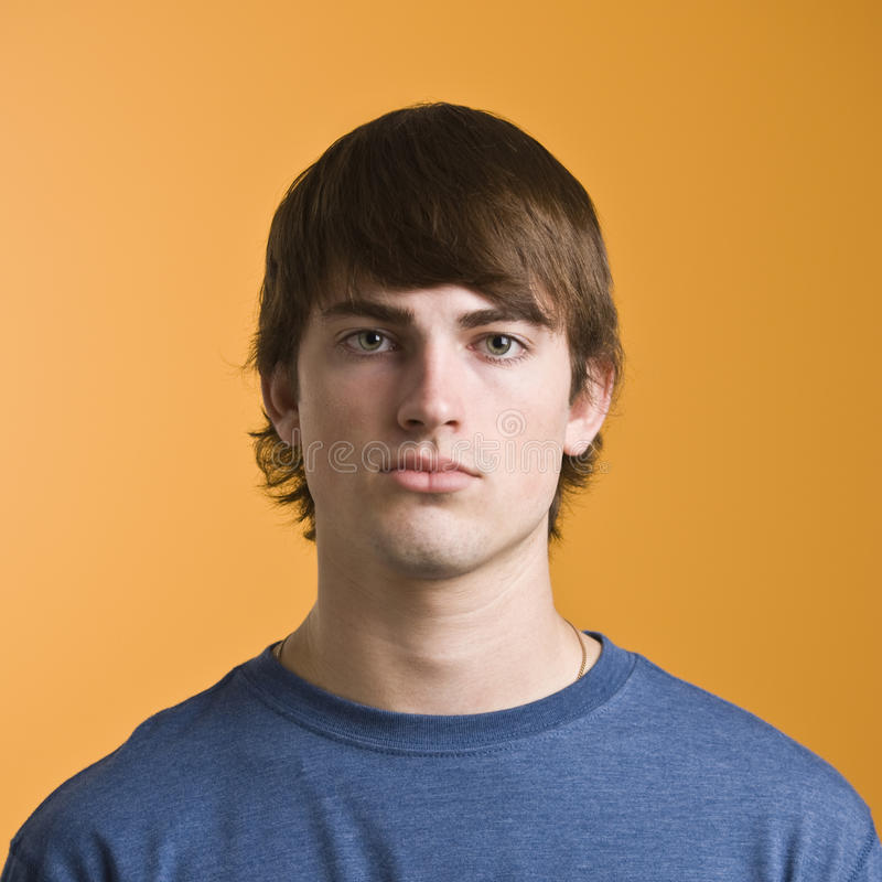 Headshot maschio attraente immagine stock