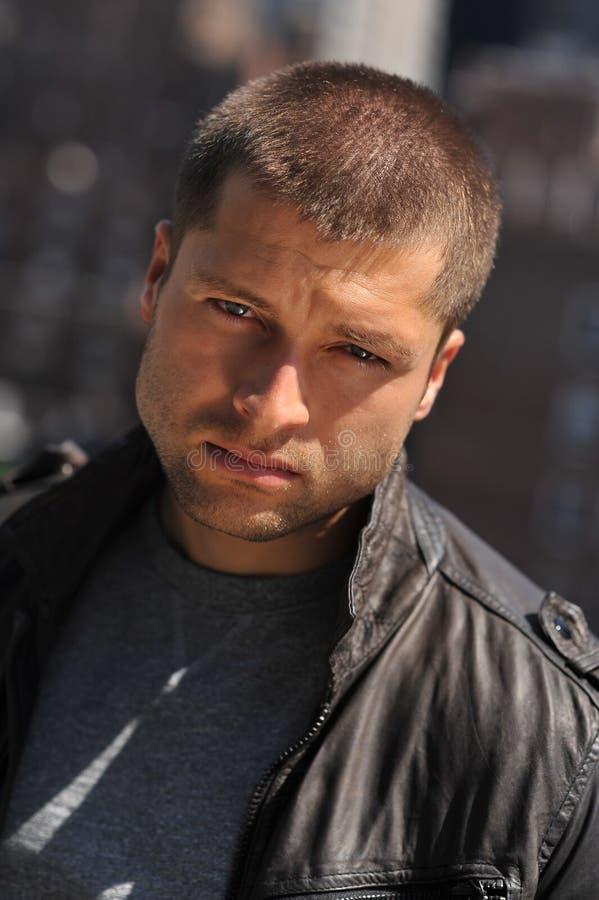 Headshot masculino del actor fotografía de archivo