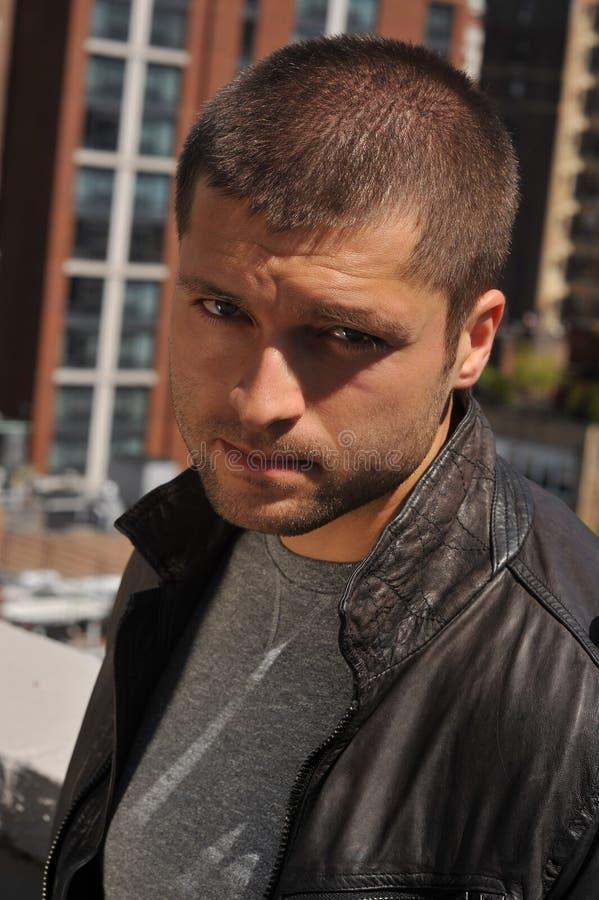 Headshot masculino del actor foto de archivo libre de regalías