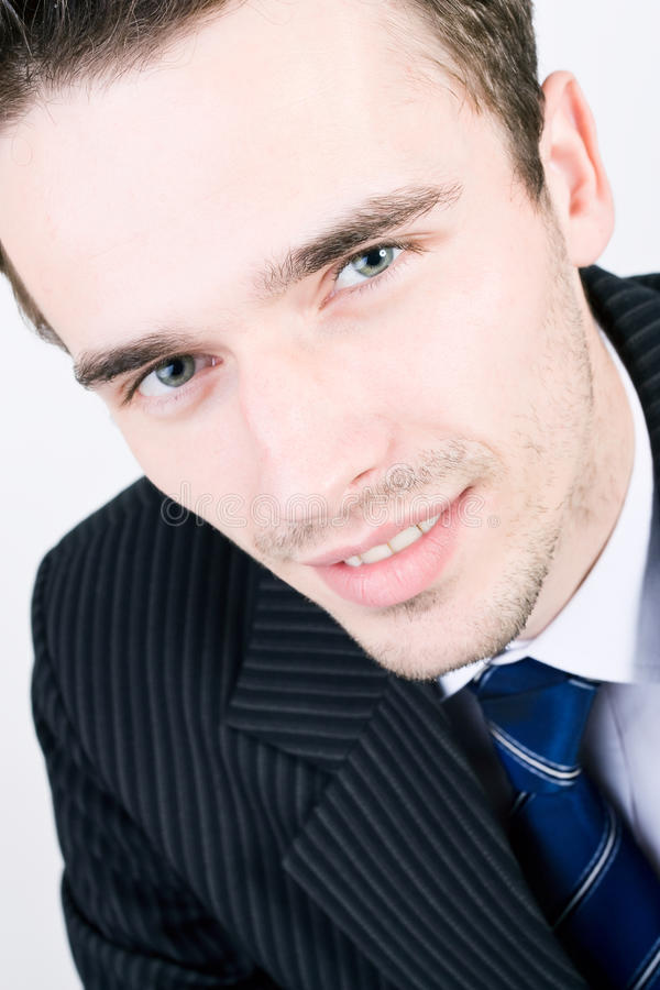 Free Headshot Portraiture Of Young Handsome Businessman Royalty Free Stock Image - 21706796