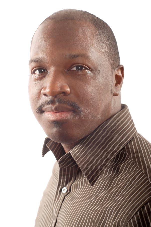 Headshot van een jonge mens stock afbeelding