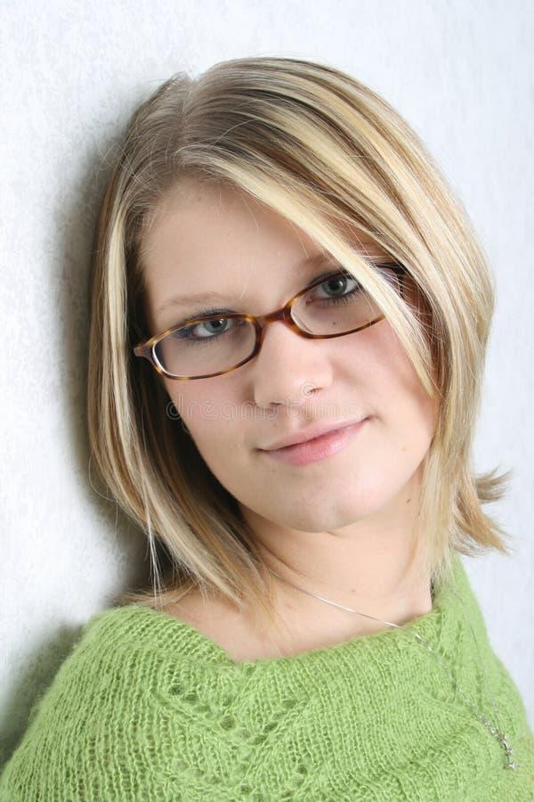 Headshot van Vrouw stock afbeelding