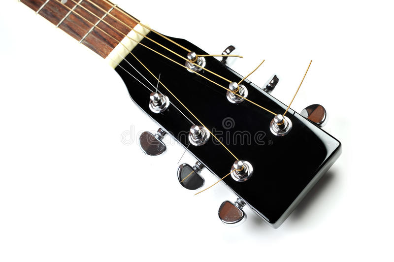 Download Headstock Of Acoustic Guitar Stock Image - Image: 12945777