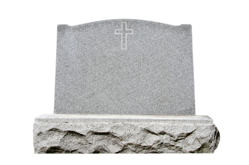 Headstone imagens de stock royalty free