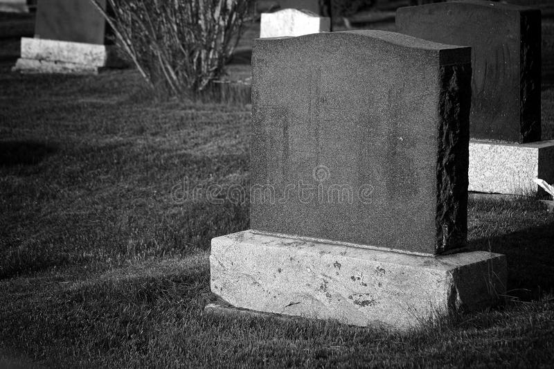 Headstone blank royalty free stock photos