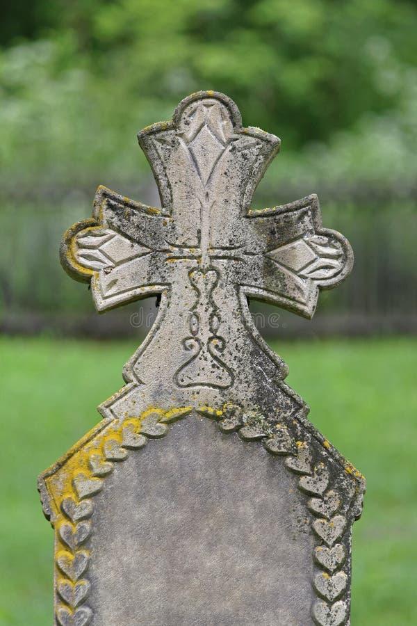 Headstone stock photography