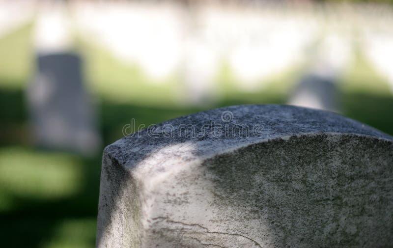 Headstone di guerra immagini stock libere da diritti