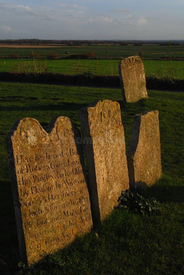 headstones obraz stock