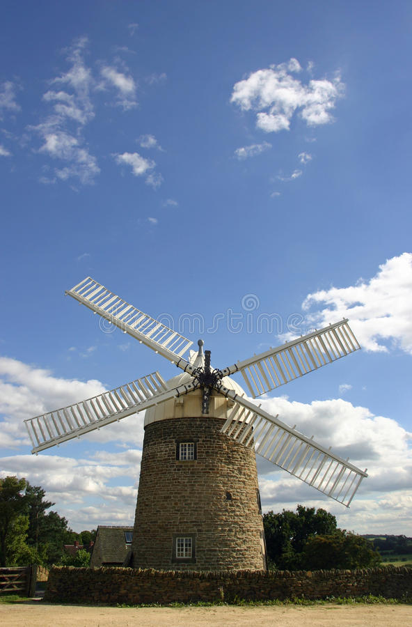 Heage windmill, Derbyshire royalty free stock photography