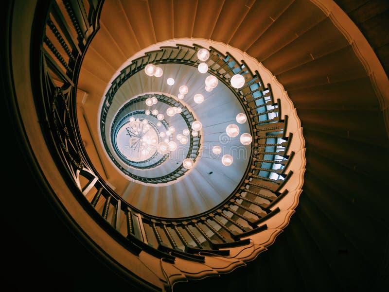 Heal-Treppe stockfotografie