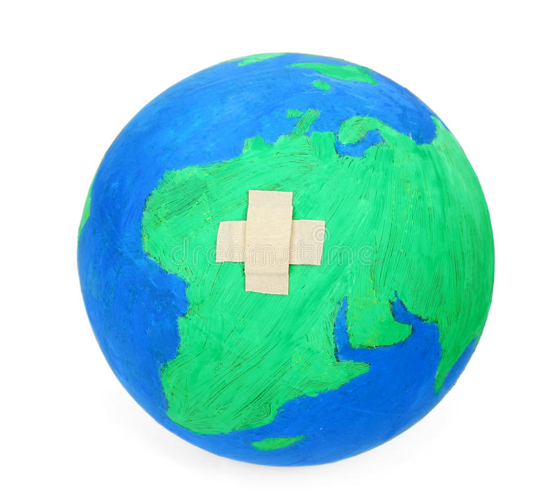 Download Heal the world stock image. Image of mend, ecology, damaged - 19214335