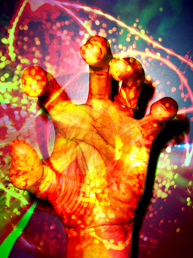 Healers Hand stock photography