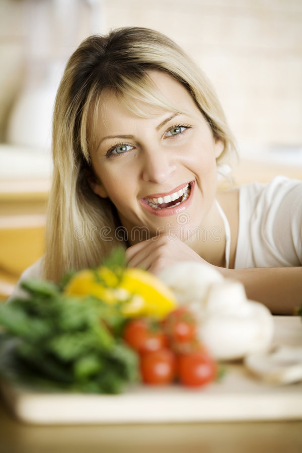 Healhty cooking royalty free stock images