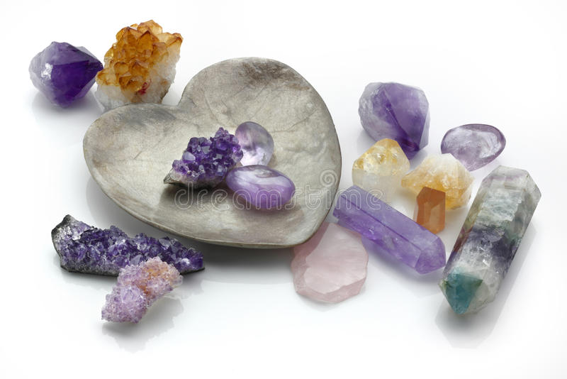 Healing Crystals stock images
