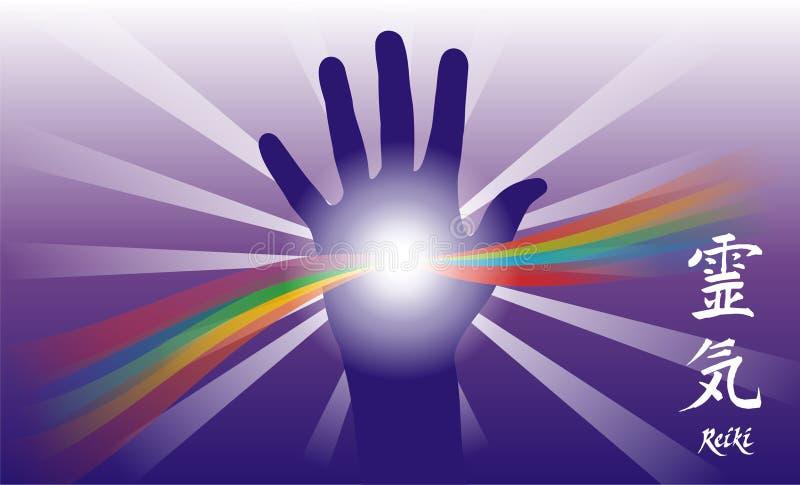 Healing hand stock photo
