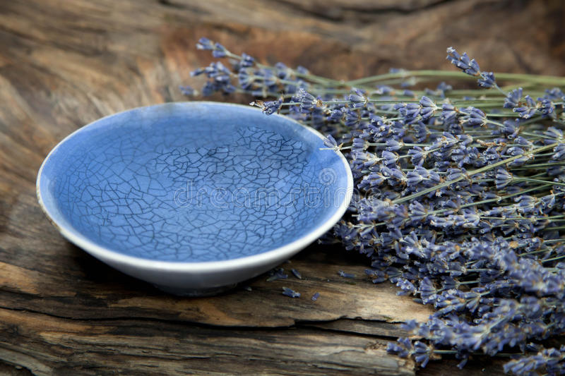 Healing with Lavender - Stock Photo stock photo